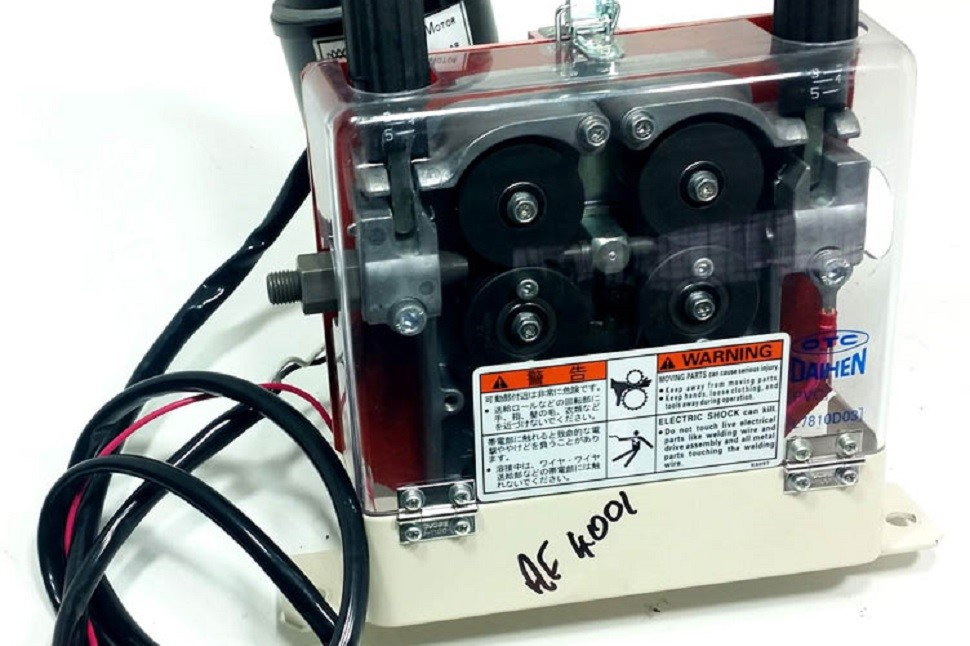 Repairing the otc daihen dptd series icr services for Lincoln wire feed motor