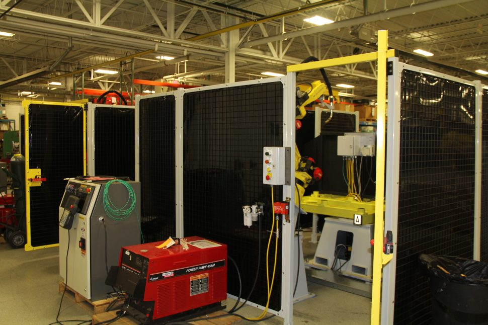 Robot Integration - Fanuc and Lincoln Electric