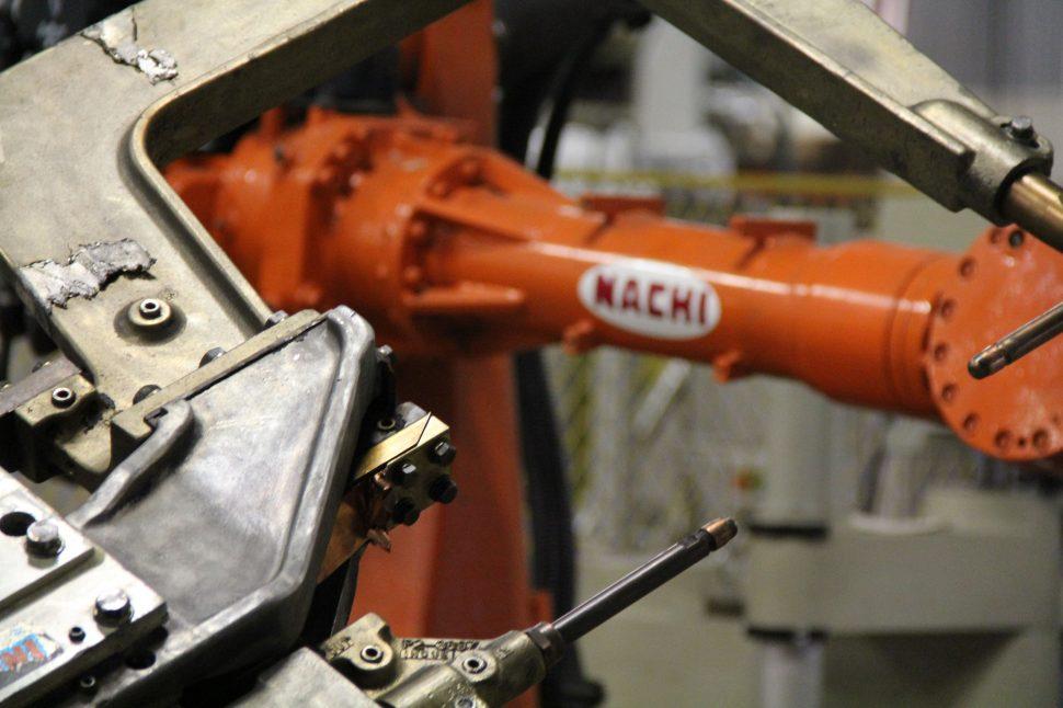 Nachi SF166-02 Robot with Weld Gun