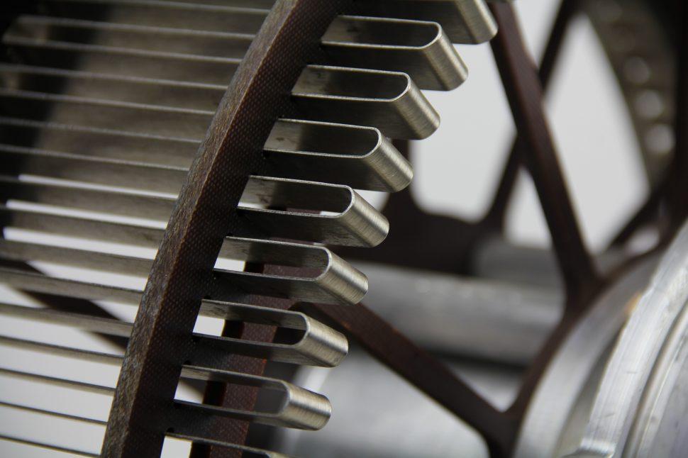 Vestas 705100 VRCC Resistor Unit (close-up)
