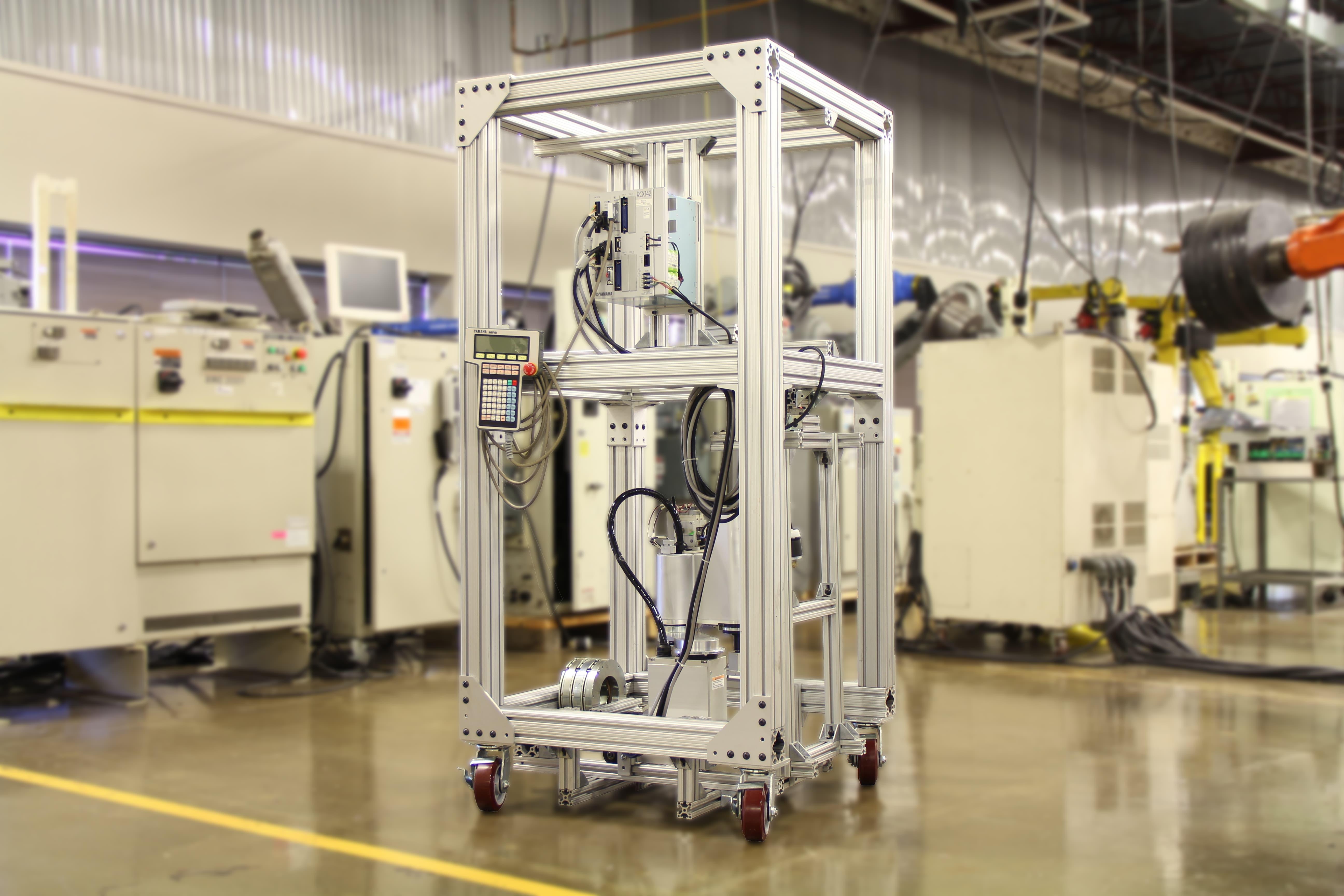 Yamaha Yk400x Scara Robot Repair Icr Services