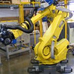 Fanuc Robot R-2000iB with Deburring EOAT