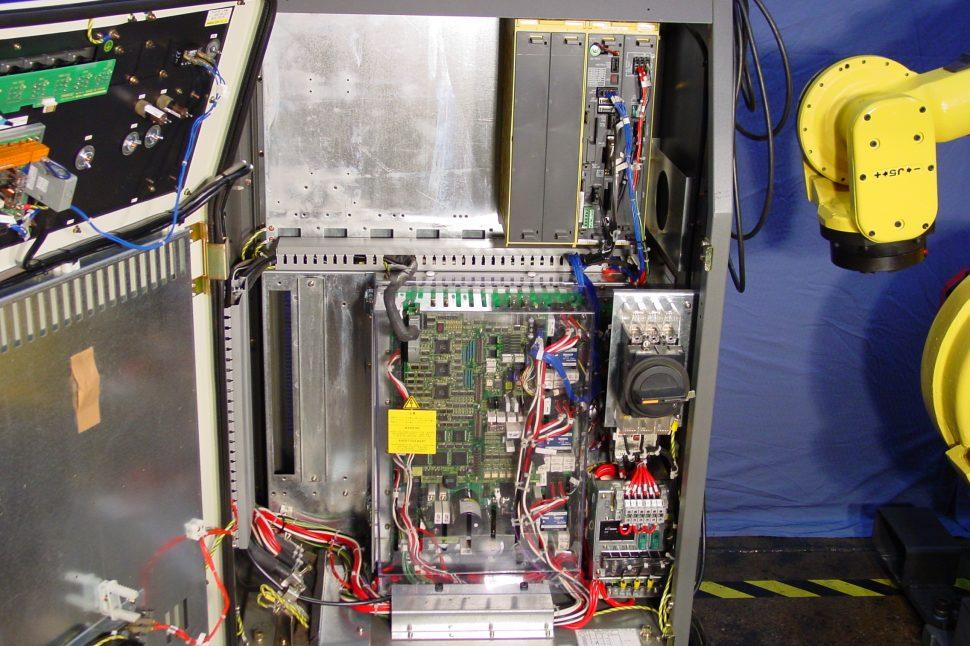 Fanuc R-J3 Controller - Inside