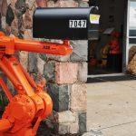 ICR 25 Year Anniversary Robot Mailbox