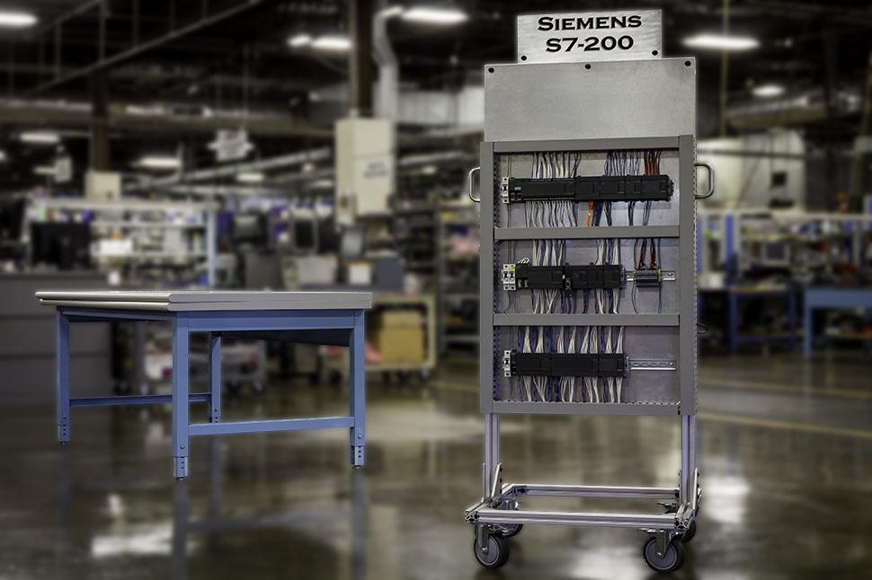 Siemens S7-200 Test Stand