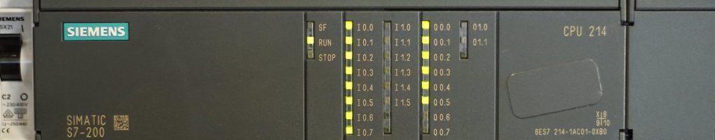 Siemens SIMATICS S7-200 PLC