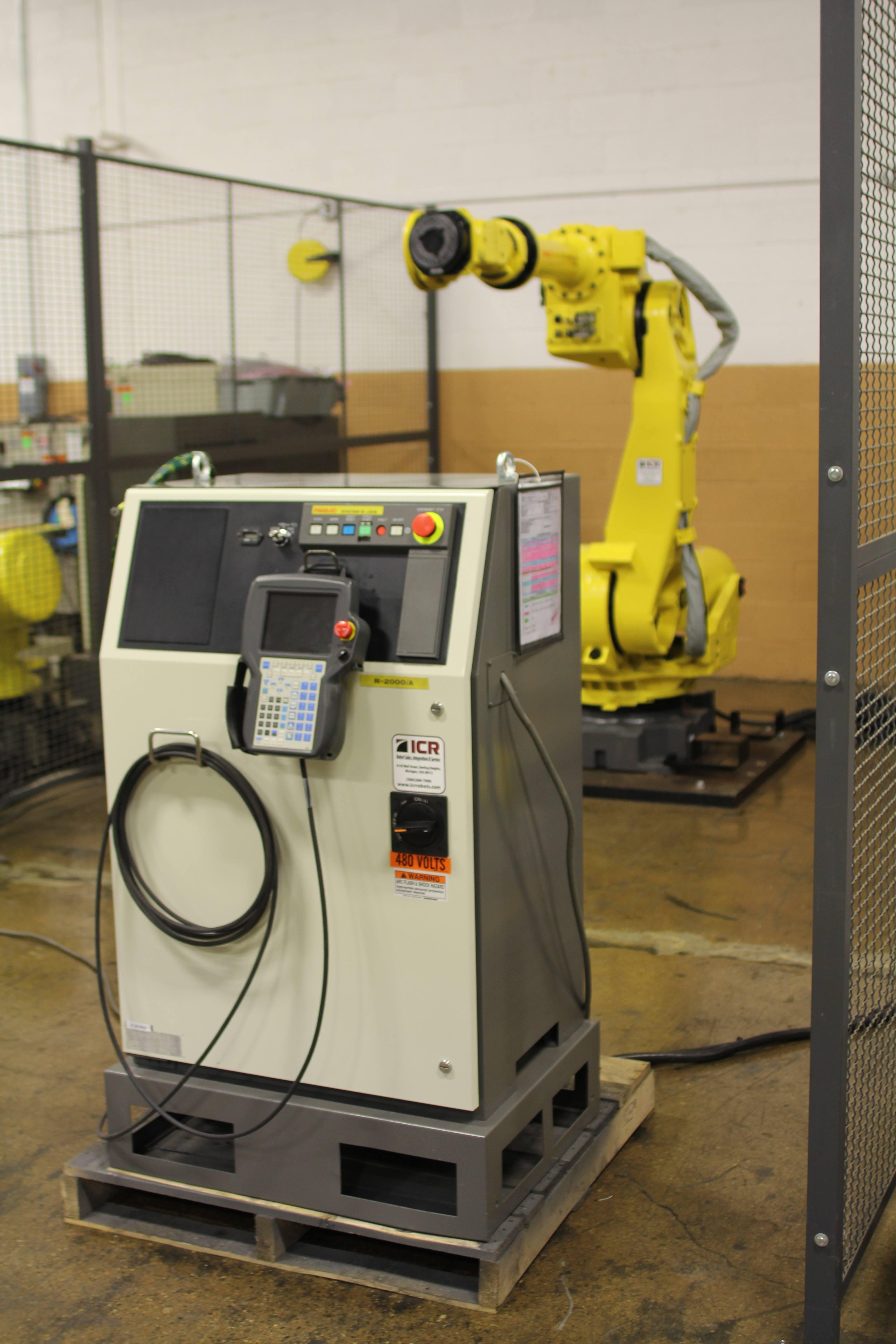 Fanuc robotics system R j3ib software Installation Manual