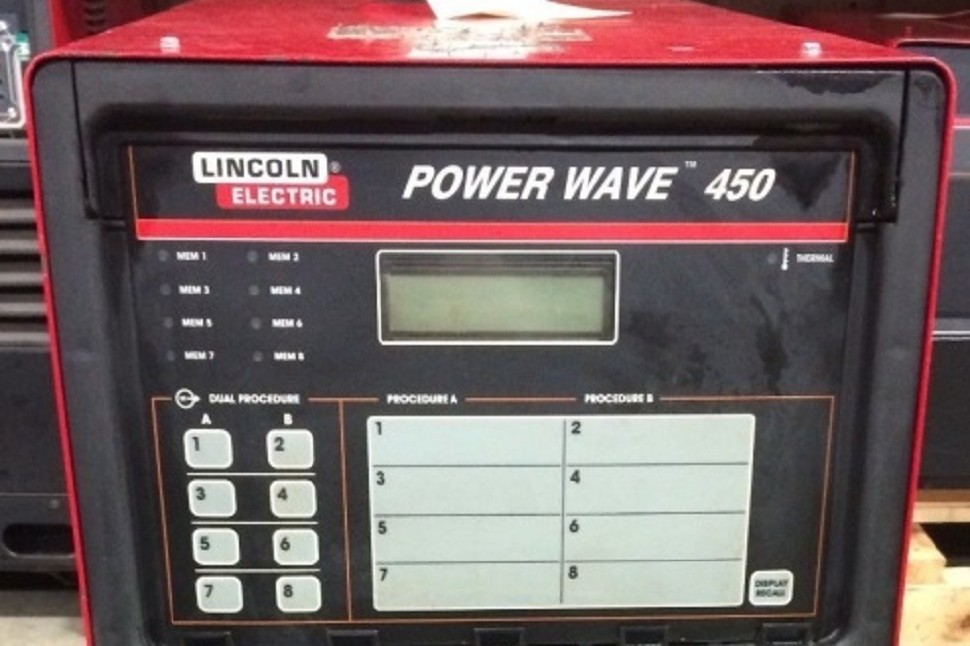 Lincoln Electric Power Wave Series Welders