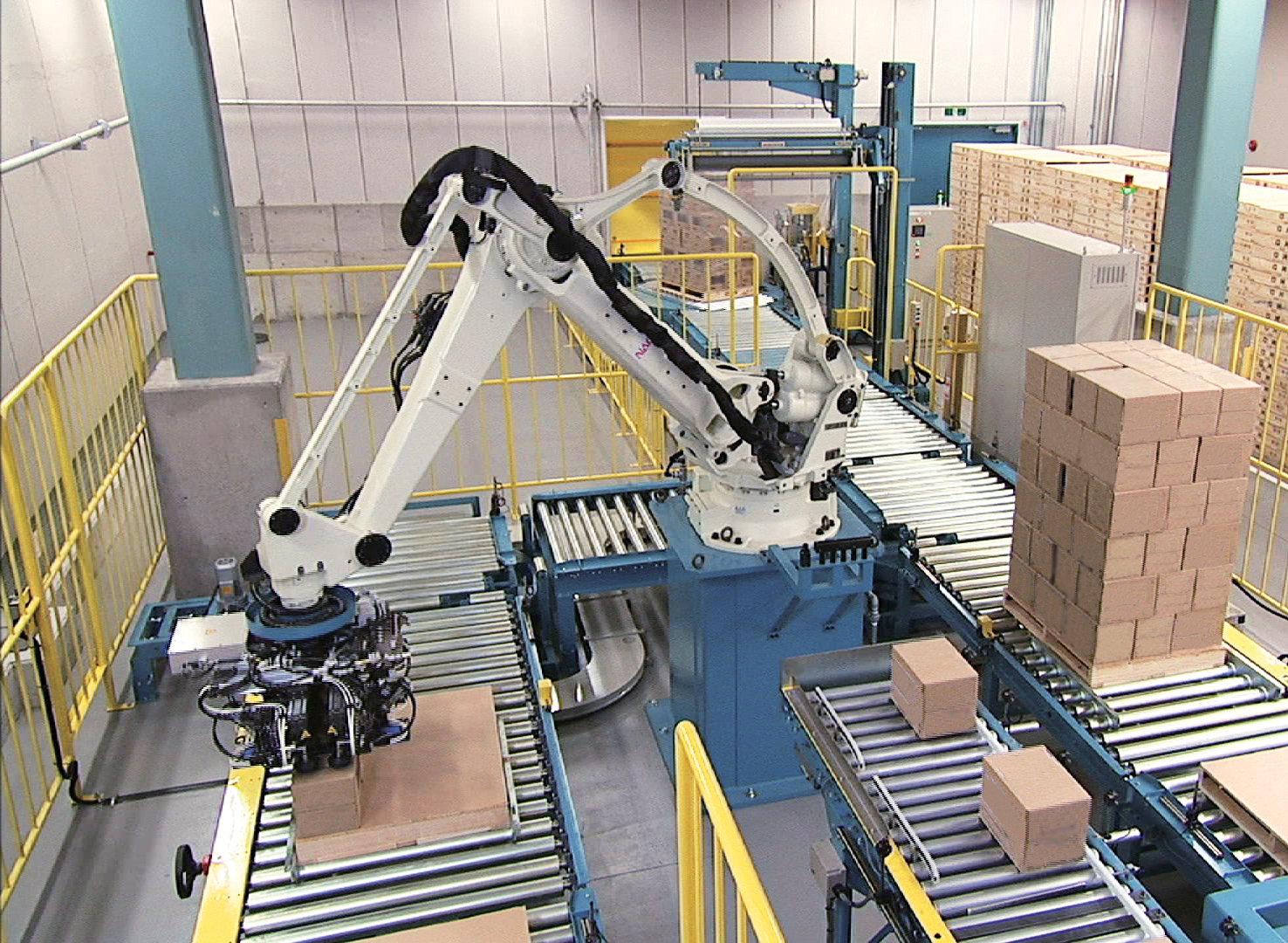 Nachi Palletizing Robotic Cell