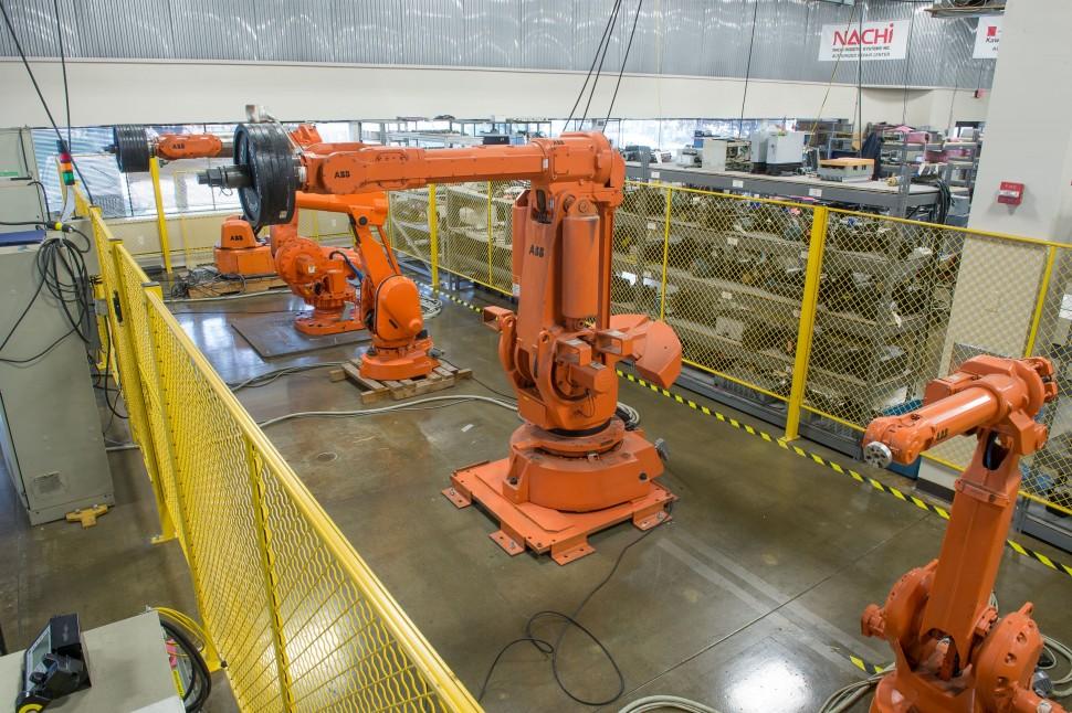 Homepage ABB robot test area Lorna