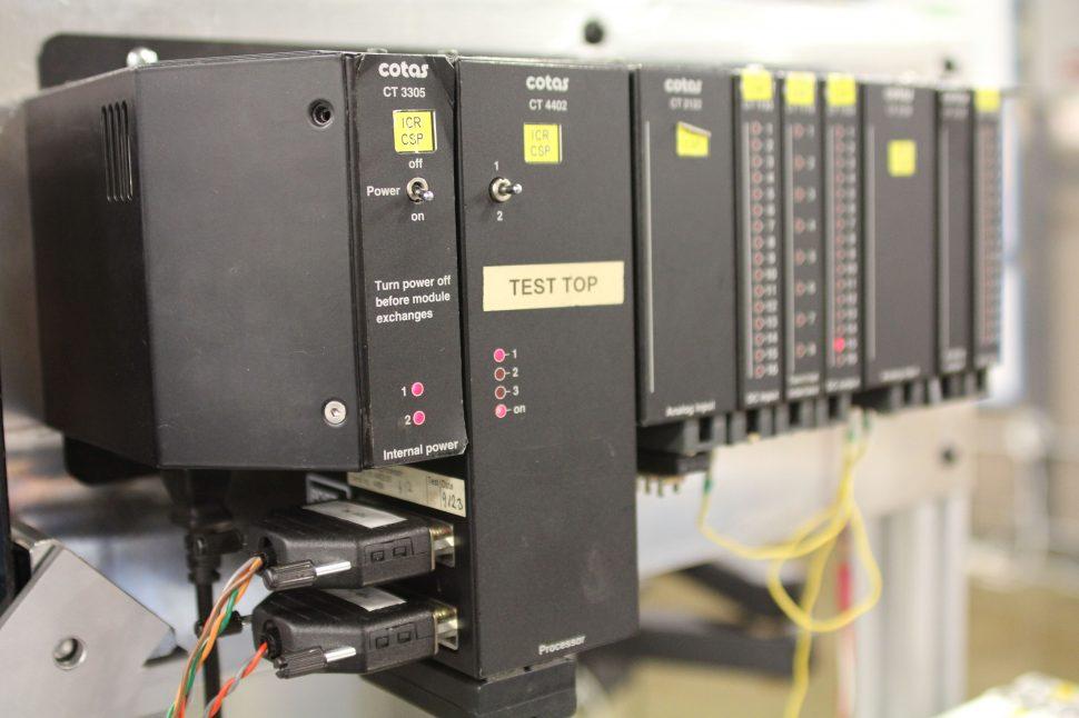 Vestas V27 PLC Rack VMP4400 Test