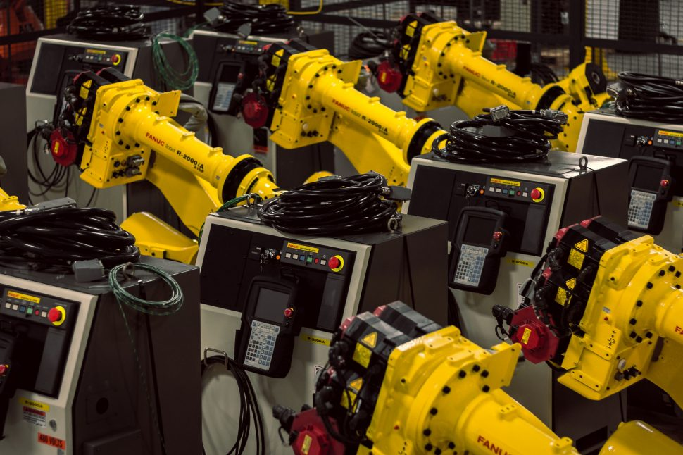 Fanuc R-2000iA 210F Robot with R-J3iB Controllers