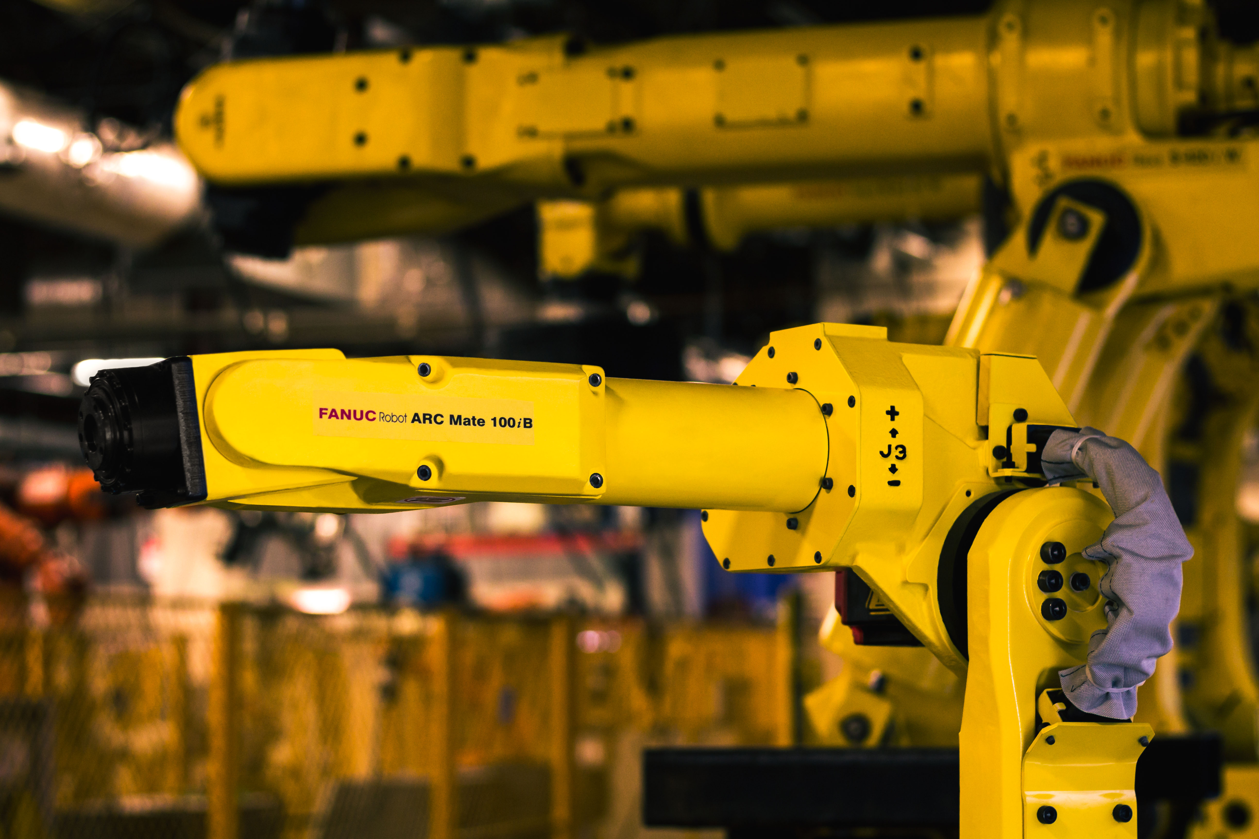 ICR Supports the Fanuc ARC Mate 100iB robot and R-J3iB