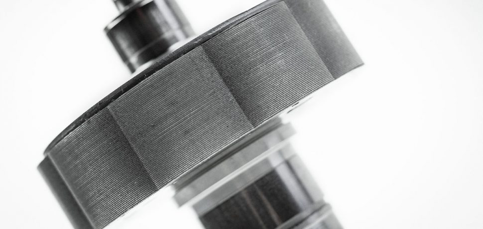 Rotor from a servo motor