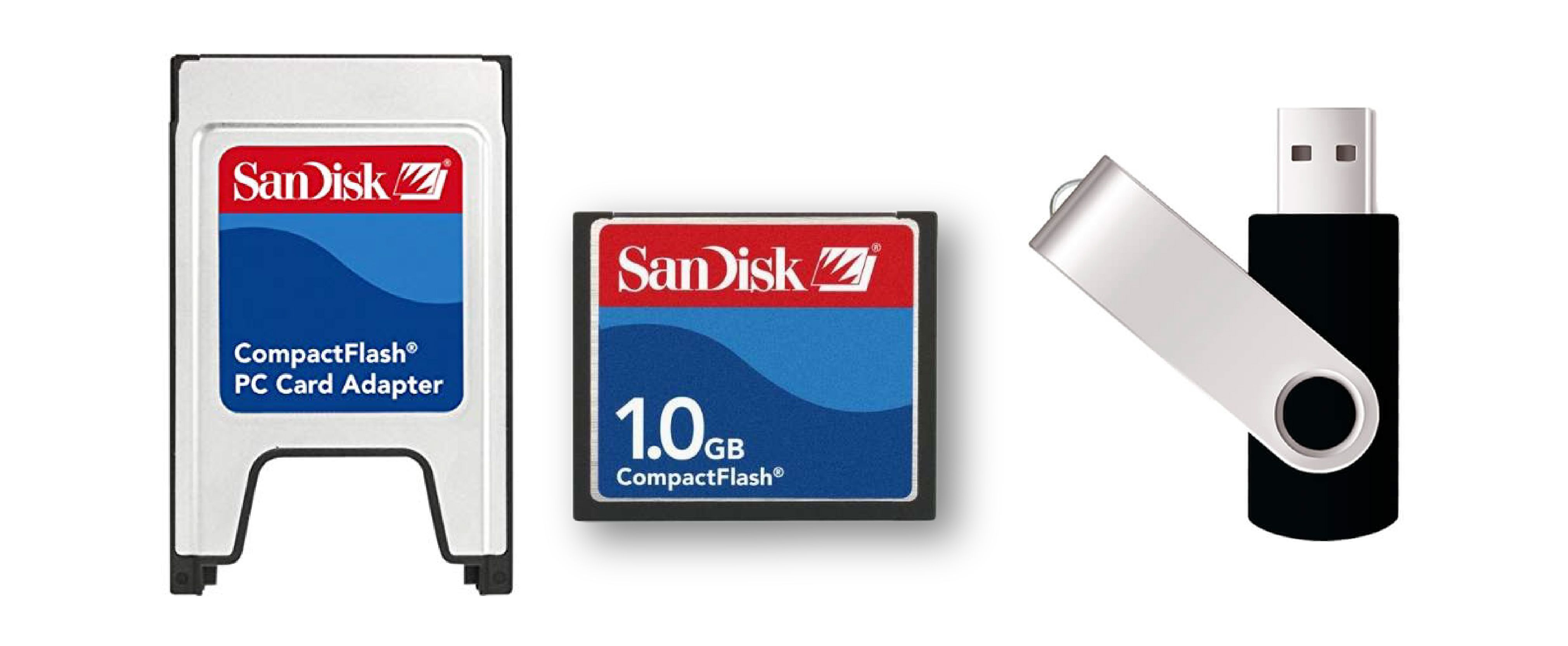 PC Card vs Flash Drive for Robot Backups