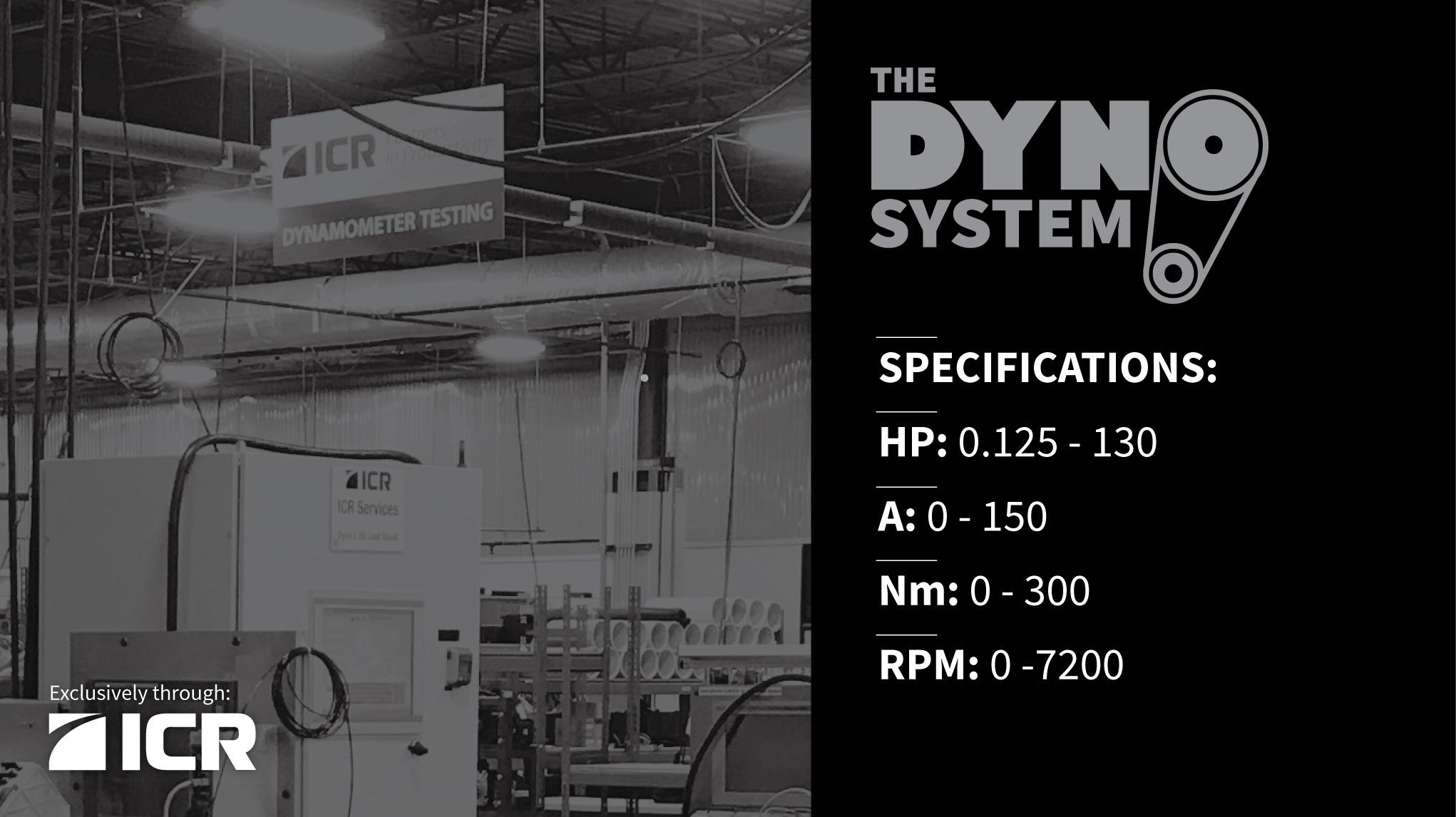 Dyno Test System Specs