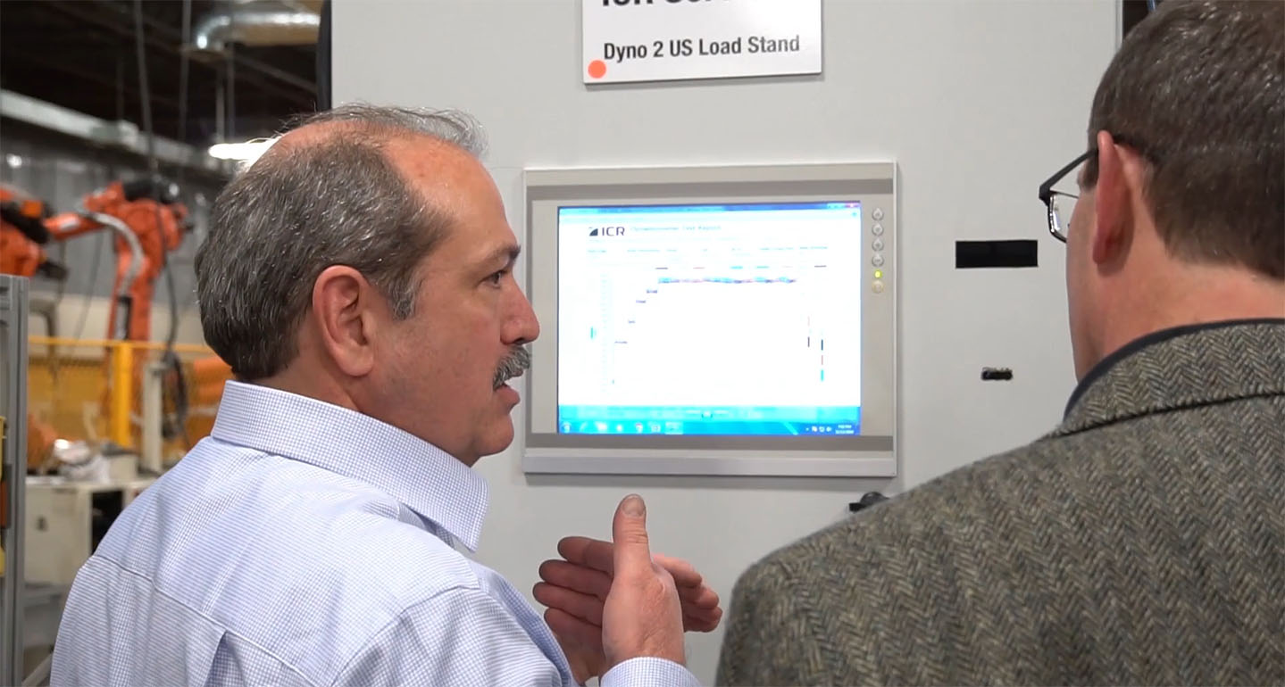 Dyno Testing Controls Cabinet