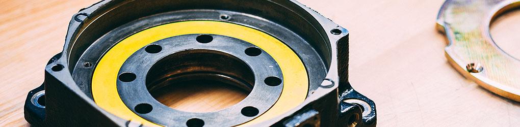 Motor brake housing