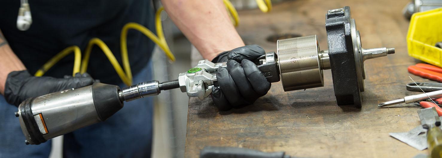 Servo Motor Repair Procedure Disassembly