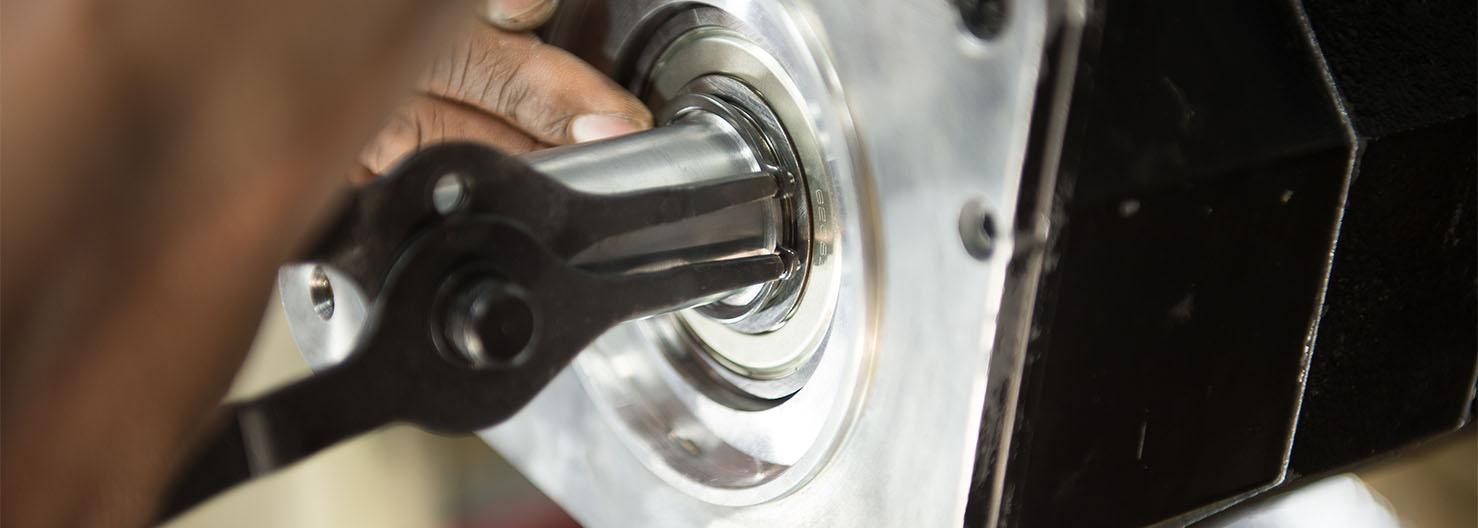 Servo Motor Repair Procedure Reassembly